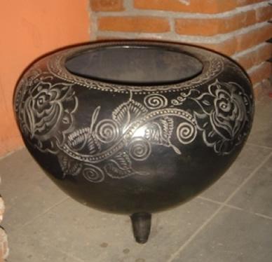 la c ramique d argile noire de san bartolo coyotepec oaxaca mexique. Black Bedroom Furniture Sets. Home Design Ideas